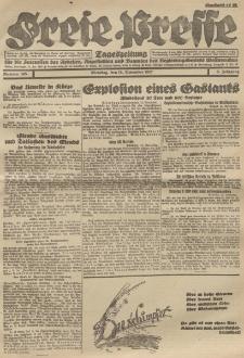 Freie Presse, Nr. 185 Dienstag 15. November 1927 3. Jahrgang