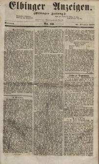 Elbinger Anzeigen, Nr. 89. Mittwoch, 31. Oktober 1855