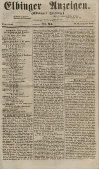 Elbinger Anzeigen, Nr. 94. Sonnabend, 17. November 1855