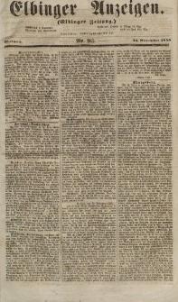 Elbinger Anzeigen, Nr. 95. Mittwoch, 21. November 1855