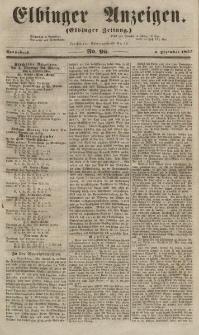 Elbinger Anzeigen, Nr. 97. Mittwoch, 28. November 1855
