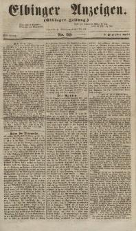 Elbinger Anzeigen, Nr. 99. Mittwoch, 5. Dezember 1855