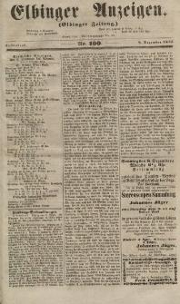 Elbinger Anzeigen, Nr. 100. Sonnabend, 8. Dezember 1855