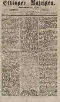 Elbinger Anzeigen, Nr. 101. Mittwoch, 12. Dezember 1855