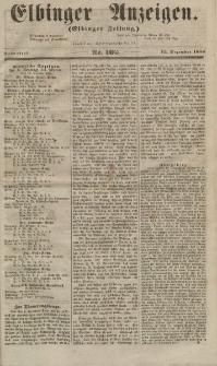 Elbinger Anzeigen, Nr. 102. Sonnabend, 15. Dezember 1855