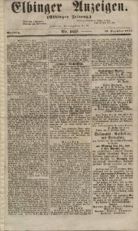 Elbinger Anzeigen, Nr. 103. Mittwoch, 19. Dezember 1855