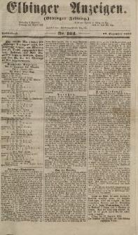 Elbinger Anzeigen, Nr. 104. Sonnabend, 22. Dezember 1855