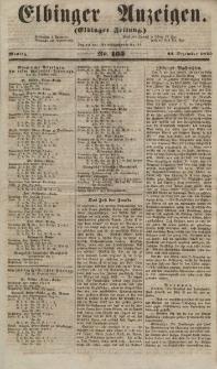 Elbinger Anzeigen, Nr. 105. Montag, 24. Dezember 1855