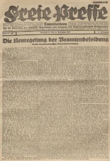 Freie Presse, Nr. 188 Sonnabend 19. November 1927 3. Jahrgang