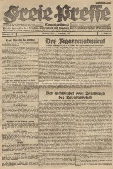 Freie Presse, Nr. 189 Montag 21. November 1927 3. Jahrgang