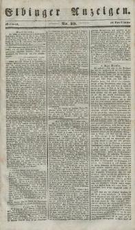 Elbinger Anzeigen, Nr. 29. Mittwoch, 11. April 1849