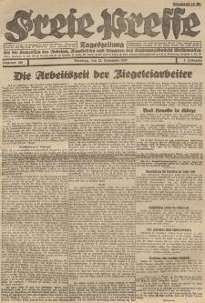 Freie Presse, Nr. 190 Dienstag 22. November 1927 3. Jahrgang