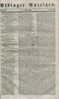 Elbinger Anzeigen, Nr. 39. Mittwoch, 16. Mai 1849