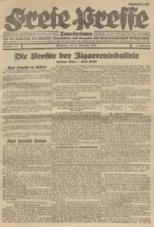 Freie Presse, Nr. 191 Mittwoch 23. November 1927 3. Jahrgang