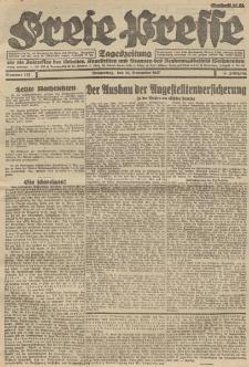 Freie Presse, Nr. 192 Donnerstag 24. November 1927 3. Jahrgang