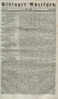 Elbinger Anzeigen, Nr. 50. Sonnabend, 23. Juni 1849