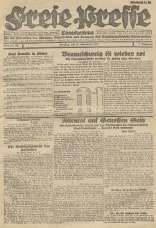 Freie Presse, Nr. 195 Montag 28. November 1927 3. Jahrgang