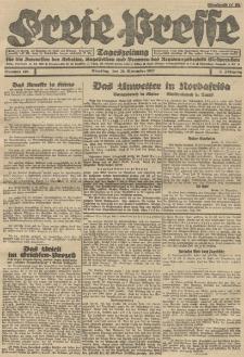Freie Presse, Nr. 196 Dienstag 29. November 1927 3. Jahrgang