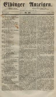 Elbinger Anzeigen, Nr. 36. Sonnabend, 3. Mai 1851