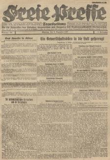 Freie Presse, Nr. 201 Montag 5. Dezember 1927 3. Jahrgang