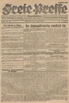 Freie Presse, Nr. 204 Donnerstag 8. Dezember 1927 3. Jahrgang