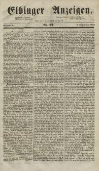 Elbinger Anzeigen, Nr. 97. Mittwoch, 3. Dezember 1851