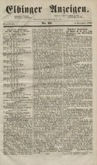 Elbinger Anzeigen, Nr. 98. Sonnabend, 6. Dezember 1851