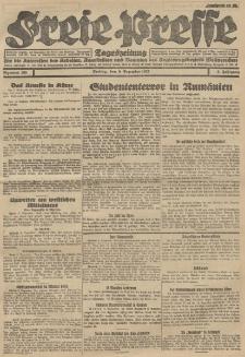 Freie Presse, Nr. 205 Freitag 9. Dezember 1927 3. Jahrgang