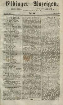 Elbinger Anzeigen, Nr. 27. Sonnabend, 3. April 1852