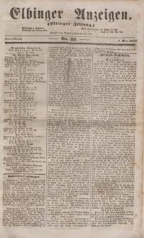 Elbinger Anzeigen, Nr. 37. Sonnabend, 7. Mai 1853