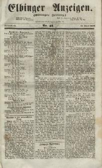 Elbinger Anzeigen, Nr. 47. Sonnabend, 11. Juni 1853