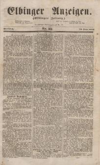 Elbinger Anzeigen, Nr. 52. Mittwoch, 29. Juni 1853