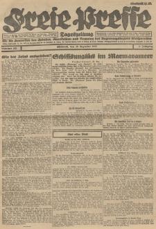 Freie Presse, Nr. 220 Mittwoch 28. Dezember 1927 3. Jahrgang