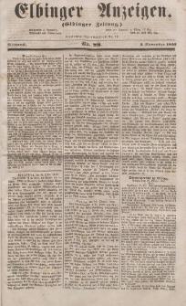 Elbinger Anzeigen, Nr. 88. Mittwoch, 2. November 1853
