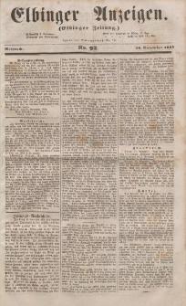 Elbinger Anzeigen, Nr. 92. Mittwoch, 16. November 1853