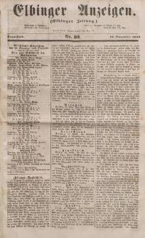 Elbinger Anzeigen, Nr. 93. Sonnabend, 19. November 1853