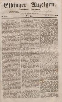 Elbinger Anzeigen, Nr. 94. Mittwoch, 23. November 1853