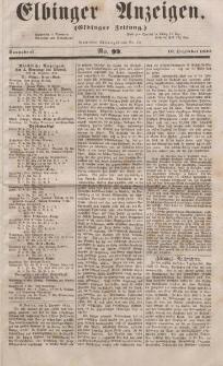 Elbinger Anzeigen, Nr. 99. Sonnabend, 10. Dezember 1853