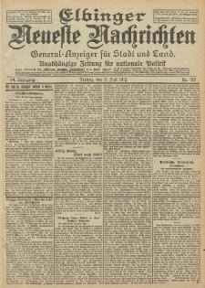 Elbinger Neueste Nachrichten, Nr. 155 Freitag 5 Juli 1912 64. Jahrgang