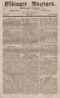 Elbinger Anzeigen, Nr. 44. Mittwoch, 31. Mai 1854
