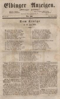 Elbinger Anzeigen, Nr. 48. Mittwoch, 14. Juni 1854