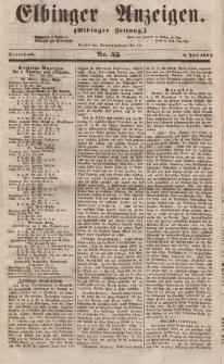 Elbinger Anzeigen, Nr. 55. Sonnabend, 8. Juli 1854