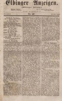 Elbinger Anzeigen, Nr. 57. Sonnabend, 15. Juli 1854