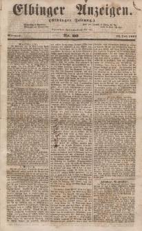 Elbinger Anzeigen, Nr. 60. Mittwoch, 26. Juli 1854