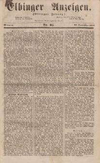 Elbinger Anzeigen, Nr. 95. Mittwoch, 22. November 1854
