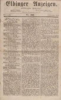 Elbinger Anzeigen, Nr. 100. Sonnabend, 9. Dezember 1854