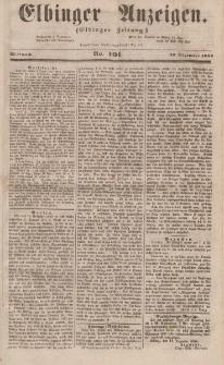 Elbinger Anzeigen, Nr. 101. Mittwoch, 13. Dezember 1854