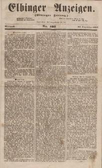 Elbinger Anzeigen, Nr. 103. Mittwoch, 20. Dezember 1854