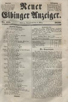Neuer Elbinger Anzeiger, Nr. 124. Sonnabend, 9. März 1850