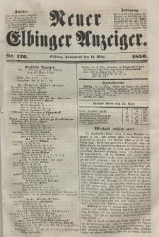 Neuer Elbinger Anzeiger, Nr. 126. Sonnabend, 16. März 1850